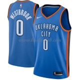 Oklahoma City Thunder Basketball Trøjer 2018 Russell Westbrook 0# Icon Edition