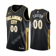 Oklahoma City Thunder Basketball Trøjer NBA 2019-20 Sort City Edition Swingman..