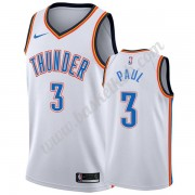Oklahoma City Thunder Basketball Trøjer NBA 2019-20 Chris Paul 3# Hvid Association Edition Swingman..