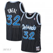 NBA Basketball Trøje Børn Orlando Magic Kids 1994-95 Shaquille O'Neal 32# Sort Hardwood Classics..