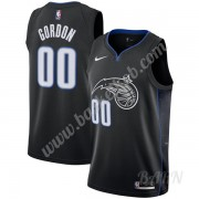 Billige Basketball Trøje Børn Orlando Magic 2019-20 Aaron Gordon 00# Sort City Edition Swingman..