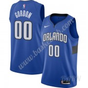Billige Basketball Trøje Børn Orlando Magic 2019-20 Aaron Gordon 00# Blå Finished Statement Edition ..