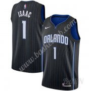 Billige Basketball Trøje Børn Orlando Magic 2019-20 Jonathan Isaac 1# Sort Icon Edition Swingman..