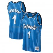 Orlando Magic Mens 1994-95 Penny Hardaway 1# Blue Hardwood Classics..