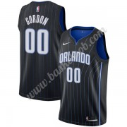 Orlando Magic Basketball Trøjer NBA 2019-20 Aaron Gordon 00# Sort Statement Edition Swingman..