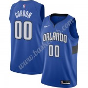 Orlando Magic Basketball Trøjer NBA 2019-20 Aaron Gordon 00# Blå Finished Statement Edition Swingman..