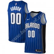Orlando Magic Basketball Trøjer NBA 2019-20 Aaron Gordon 00# Blå Icon Edition Swingman..