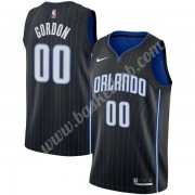 Orlando Magic Basketball Trøjer NBA 2019-20 Aaron Gordon 00# Sort Icon Edition Swingman..