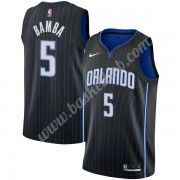 Orlando Magic Basketball Trøjer NBA 2019-20 Mohamed Bamba 5# Sort Icon Edition Swingman..