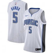 Orlando Magic Basketball Trøjer NBA 2019-20 Mohamed Bamba 5# Hvid Association Edition Swingman..