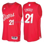 Philadelphia 76Ers 2016 Joel Embiid 21# Jul NBA Basketball Trøjer..