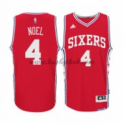 Philadelphia 76ers Basketball Trøjer 2015-16 Nerlens Noel 4# Alternate..