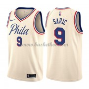 Philadelphia 76ers Basketball Trøjer 2018 Dario Saric 9# City Edition..