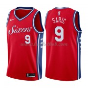 Philadelphia 76ers Basketball Trøjer 2018 Dario Saric 9# Statement Edition..