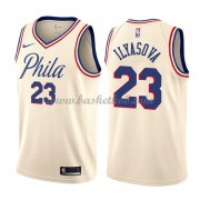 Philadelphia 76ers Basketball Trøjer 2018 Ersan Ilyasova 23# City Edition..