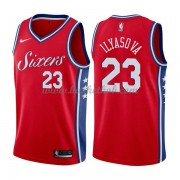 Philadelphia 76ers Basketball Trøjer 2018 Ersan Ilyasova 23# Statement Edition..