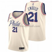 Philadelphia 76ers Basketball Trøjer 2018 Joel Embiid 21# City Edition..