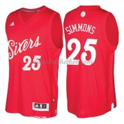 Philadelphia 76ers 2016 Ben Simmons 25# Jul NBA Basketball Trøjer..