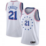 Philadelphia 76ers Basketball Trøjer NBA 2019-20 Joel Embiid 21# Earned Edition Swingman..