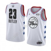 Philadelphia 76ers 2019 Jimmy Butler 23# Hvid All Star Game Swingman Basketball Trøjer..