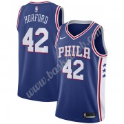 Philadelphia 76ers Basketball Trøjer NBA 2019-20 Al Horford 42# Blå Icon Edition Swingman..