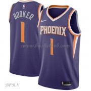 NBA Basketball Trøje Børn Phoenix Suns 2018 Devin Booker 1# Icon Edition..