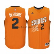 Phoenix Suns Basketball Trøjer 2015-16 Eric Bledsoe 2# Orange Alternate..