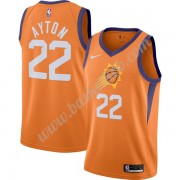 Phoenix Suns Basketball Trøjer NBA 2019-20 DeAndre Ayton 22# Orange Finished Statement Edition Swing..