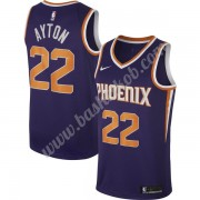 Phoenix Suns Basketball Trøjer NBA 2019-20 DeAndre Ayton 22# Lilla Icon Edition Swingman..