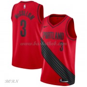 NBA Basketball Trøje Børn Portland Trail Blazers 2018 C.J. McCollum 3# Statement Edition..