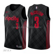 NBA Basketball Trøje Børn Portland Trail Blazers 2018 C.J. McCollum 3# City Edition..