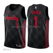 NBA Basketball Trøje Børn Portland Trail Blazers 2018 Evan Turner 1# City Edition..