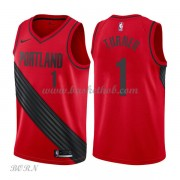 NBA Basketball Trøje Børn Portland Trail Blazers 2018 Evan Turner 1# Statement Edition..