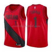 Portland Trail Blazers Basketball Trøjer 2018 Evan Turner 1# Statement Edition..