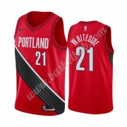 Portland Trail Blazers Basketball Trøjer NBA 2019-20 Hassan Whiteside 21# Rød Statement Edition Swin..