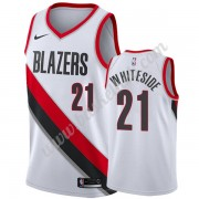 Portland Trail Blazers Basketball Trøjer NBA 2019-20 Hassan Whiteside 21# Hvid Association Edition S..