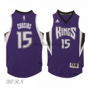 NBA Basketball Trøje Børn Sacramento Kings 2015-16 DeMarcus Cousins 15# Road..
