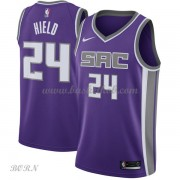 NBA Basketball Trøje Børn Sacramento Kings 2018 Buddy Hield 24# Icon Edition..