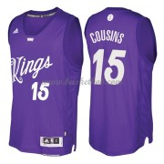 Sacramento Kings 2016 Demarcus Cousins 15# Jul NBA Basketball Trøjer..