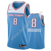 Sacramento Kings Basketball Trøjer NBA 2019-20 Bogdan Bogdanovic 8# Blå City Edition Swingman..