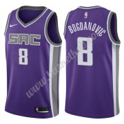 Sacramento Kings Basketball Trøjer NBA 2019-20 Bogdan Bogdanovic 8# Lilla Icon Edition Swingman..