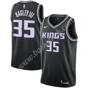 Sacramento Kings Basketball Trøjer NBA 2019-20 Marvin Bagley III 35# Sort Statement Edition Swingman..