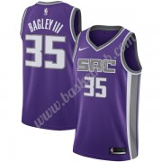 Sacramento Kings Basketball Trøjer NBA 2019-20 Marvin Bagley III 35# Lilla Icon Edition Swingman..