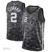 NBA Basketball Trøje Børn San Antonio Spurs 2018 Kawhi Leonard 2# City Edition..