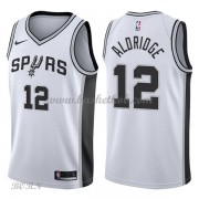 NBA Basketball Trøje Børn San Antonio Spurs 2018 LaMarcus Aldridge 12# Association Edition..
