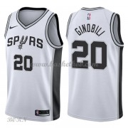 NBA Basketball Trøje Børn San Antonio Spurs 2018 Manu Ginobili 20# Association Edition..