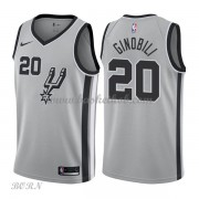 NBA Basketball Trøje Børn San Antonio Spurs 2018 Manu Ginobili 20# Statement Edition..