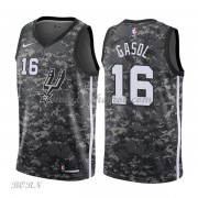 NBA Basketball Trøje Børn San Antonio Spurs 2018 Pau Gasol 16# City Edition..