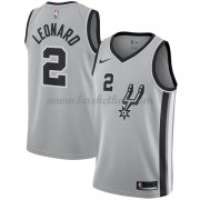 San Antonio Spurs Basketball Trøjer 2018 Kawhi Leonard 2# Statement Edition..