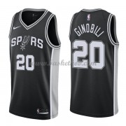San Antonio Spurs Basketball Trøjer 2018 Manu Ginobili 20# Icon Edition..